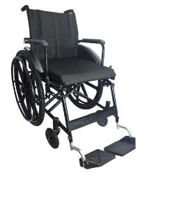 Cadeira de Rodas Geriátrica - Sob Encomenda | Amparo