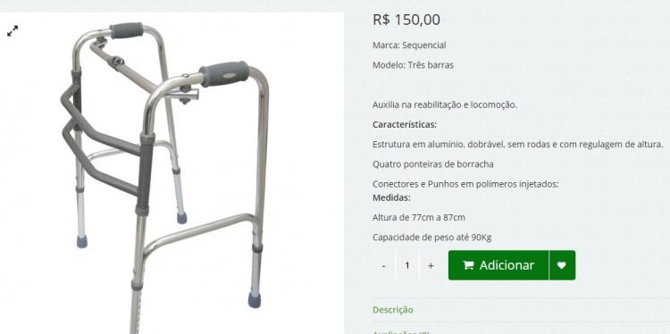 Produto médico hospitalar - Amparo