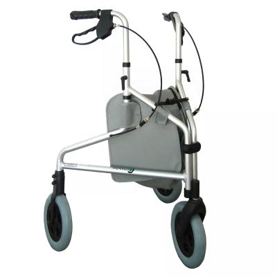 Andador de três rodas