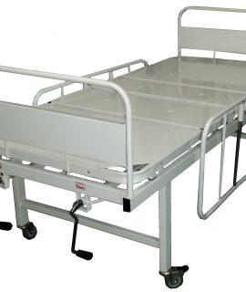Cama Hospitalar Manual 2 Manivelas - Amparo Hospitalar