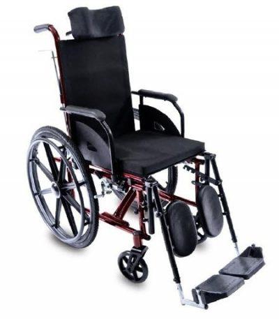 Cadeira de Rodas Reclinável Tetra | Amparo Hospitalar