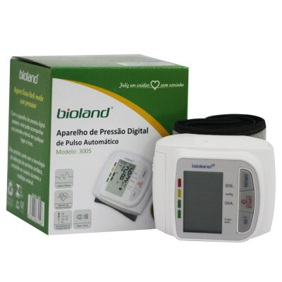 Aparelho de Pressão Digital de Pulso Automático - Amparo Hospitalar