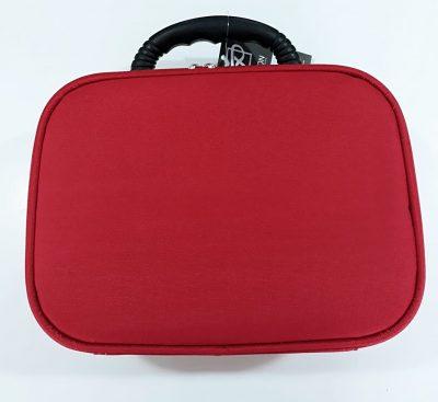 maleta vermelha