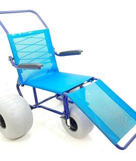 Cadeira de rodas para praia Ipanema Ortobras - Amparo Hospitalar